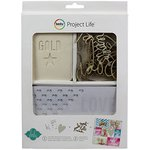 Becky Higgins - Project Life - Heidi Swapp Edition Collection - Value Kit - Color Magic Watercolor and Canvas Cards