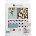 Becky Higgins - Project Life - Heidi Swapp Collection - Value Kit - Gold Foil Cards
