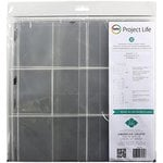 Becky Higgins - Project Life - Heidi Swapp Collection - 12 x 12 Panoramic Pocket Pages - 12 Pack