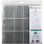 Becky Higgins - Project Life - Heidi Swapp Edition Collection - 12 x 12 Panoramic Pocket Pages - 12 Pack