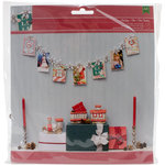 American Crafts - Christmas - Kit - Snowflake Card Display Garland