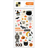 Die Cuts with a View - Stickers - Halloween Party - Holographic Foil Accents