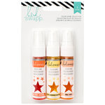 Heidi Swapp - Mixed Media Collection - Color Shine Iridescent Spritz - Set - Creamcicle