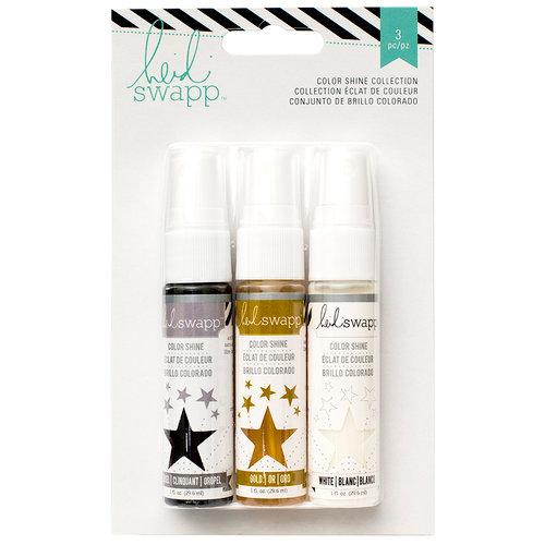 Heidi Swapp - Mixed Media Collection - Color Shine Iridescent Spritz - Set - Basics