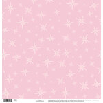 EK Success - Disney Collection - 12 x 12 Single Sided Paper with Glitter Accents - Pixie Dust