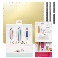 We R Memory Keepers - Freestyle Pens - All-In-One Kit with Calligraphy Tip Pen and 12 x 12 Magnetic Mat Bundle