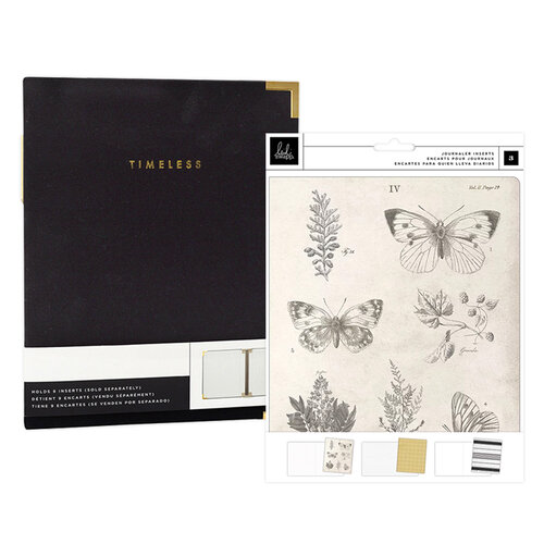 Heidi Swapp - Storyline Chapters Collection - Insert Book Set and Black Album - The Journaler