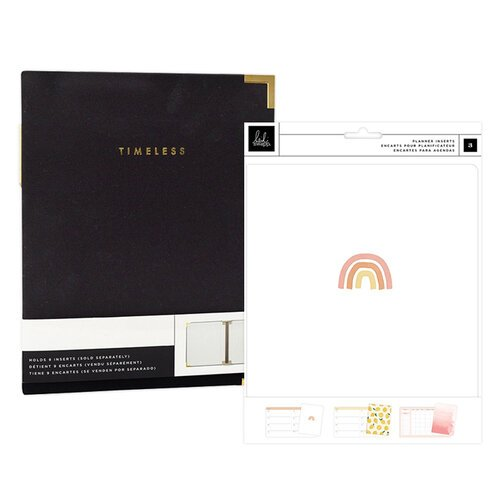 Heidi Swapp - Storyline Chapters Collection - Insert Book Set and Black Album - The Planner