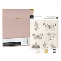 Heidi Swapp - Storyline Chapters Collection - Insert Book Set and Blush Album - The Journaler