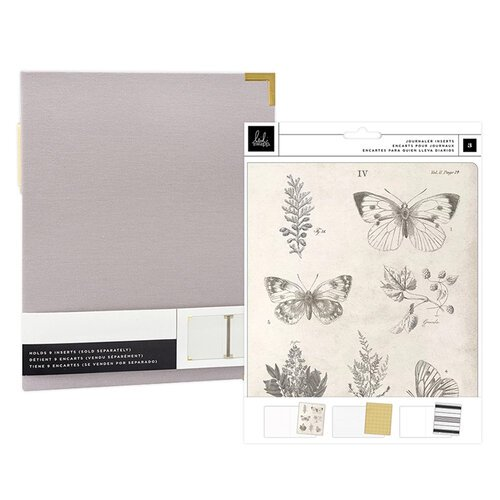Heidi Swapp - Storyline Chapters Collection - Insert Book Set and Gray Album - The Journaler