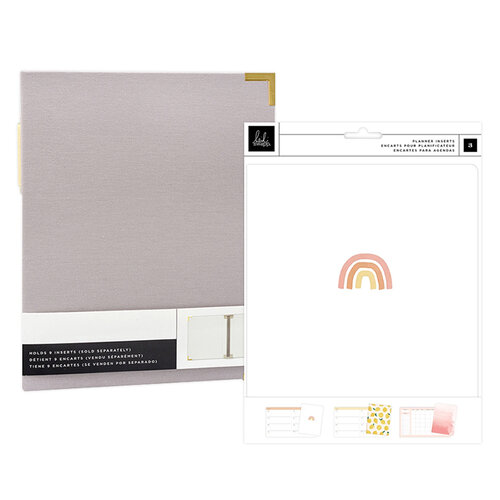 Heidi Swapp - Storyline Chapters Collection - Insert Book Set and Gray Album - The Planner
