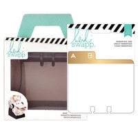 Heidi Swapp - Memorydex - Holder - Rolodex Spinner - Address Book Tabs Bundle