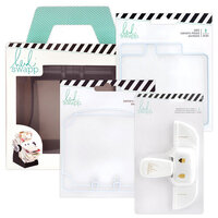 Heidi Swapp - Memorydex - Holder - Rolodex Spinner - Hole Punch and Die Set Bundle
