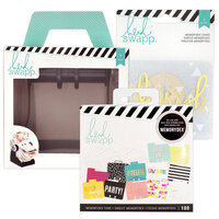 Heidi Swapp - Memorydex - Holder - Rolodex Spinner - Selfie Bundle