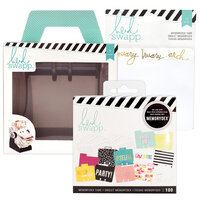 Heidi Swapp - Memorydex - Holder - Rolodex Spinner - Monthly Selfie Bundle