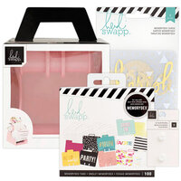 Heidi Swapp - Memorydex - Holder - Blush Rolodex Spinner - Selfie Bundle