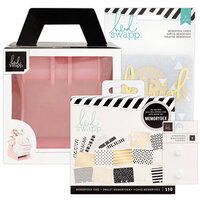 Heidi Swapp - Memorydex - Holder - Blush Rolodex Spinner - Recipe Bundle
