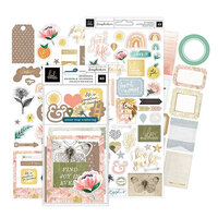 Heidi Swapp - Storyline Chapters Collection - Ephemera and Cardstock Stickers with Foil Accents Bundle