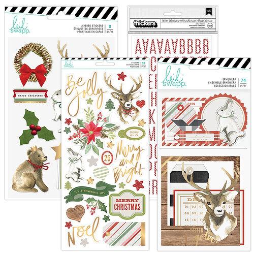 Heidi Swapp - Winter Wonderland Collection - Embellishment Kit