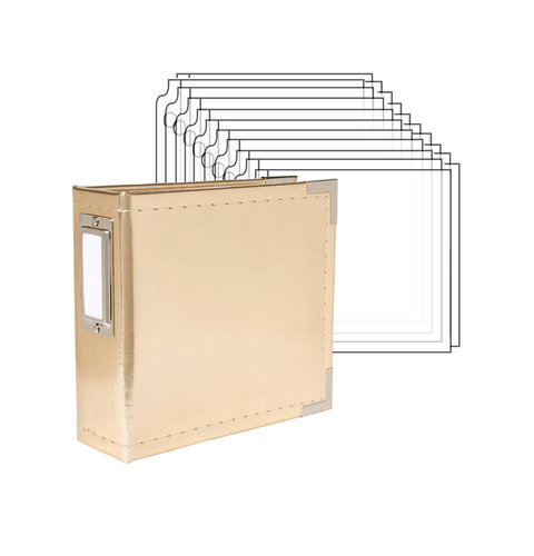 American Crafts - 4 x 4 - Instagram Mini Square Album and Photo Sleeve Pack - Complete Kit