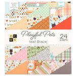 Die Cuts with a View - Playful Pets Collection - Foil Paper Stack - 6 x 6