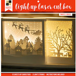 Die Cuts with a View - Christmas - Project Stacks - Light Up Laser Cut Box