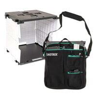 We R Memory Keepers - ShotBox Collection - Portable Photo Studio Kit and Premium Storage Bag Bundle