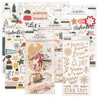 Crate Paper - Snowflake Collection - Embellishment Kit