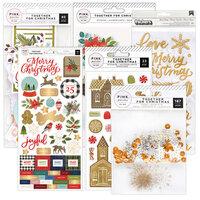 Pink Paislee - Together for Christmas Collection - Embellishment Kit