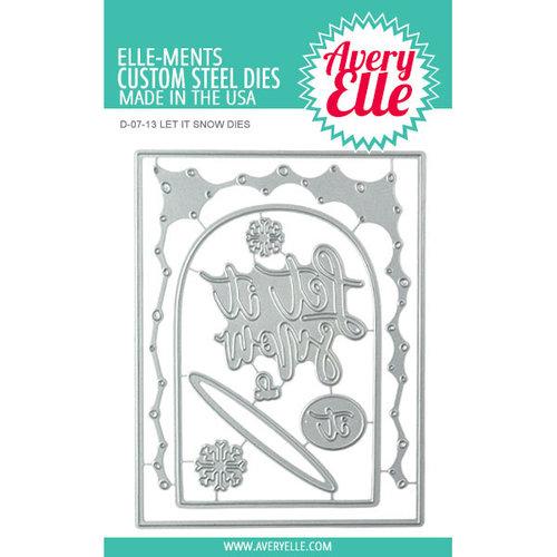 Avery Elle - Christmas - Elle-ments Dies - Let It Snow