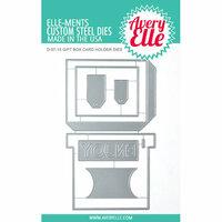 Avery Elle - Elle-ments Dies - Gift Box Card Holder