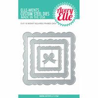 Avery Elle - Elle-ments Dies - Wonky Squares Frames
