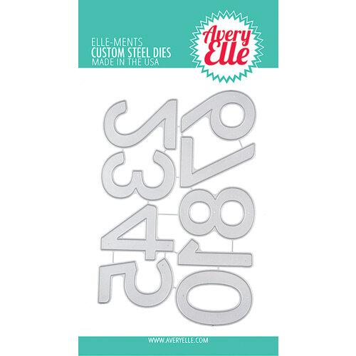 Avery Elle - Elle-Ments Dies - Party Numbers