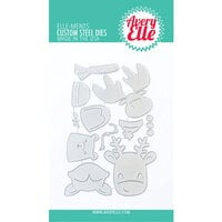 Avery Elle - Elle-Ments Dies - Christmas - Peek-a-Boo Holiday Tag Toppers