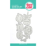 Avery Elle - Elle-ments Dies - Peek-A-Boo Birthday Tag Topper