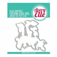 Avery Elle - Elle-Ments Dies - Fuchsia