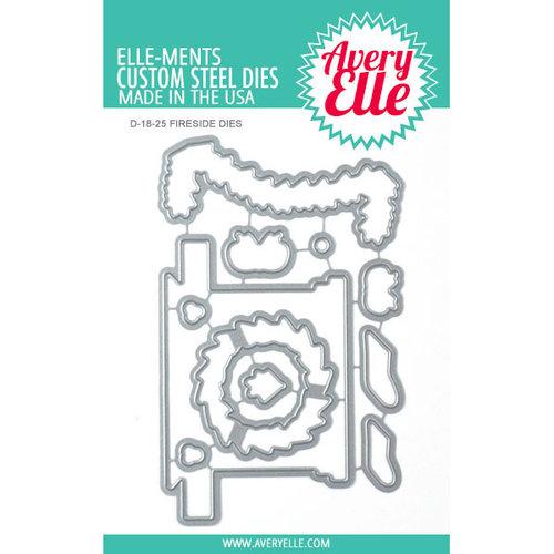 Avery Elle - Christmas - Elle-ments Dies - Fireside