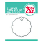 Avery Elle - Christmas - Elle-ments Dies - Snow Tags