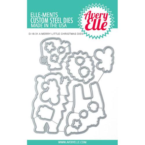 Avery Elle - Elle-ments Dies - A Merry Little Christmas