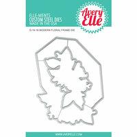 Avery Elle - Elle-ments Dies - Modern Floral Frame