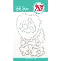 Avery Elle - Christmas - Elle-Ments Dies - Rustic Wreath