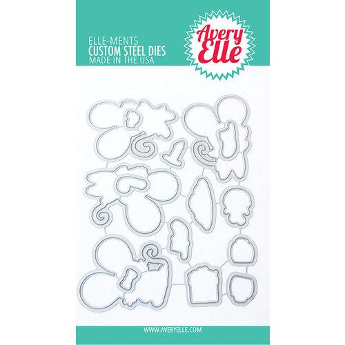 Avery Elle - Elle-Ments Dies - Christmas - Christmas Mice