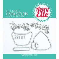 Avery Elle - Elle-Ments Dies - Layered Cupcake