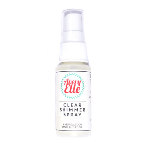 Avery Elle - Clear Shimmer Spray