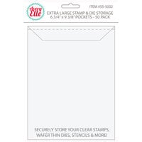 Avery Elle - Stamp and Die Storage Pockets - Extra Large - 50 Pack