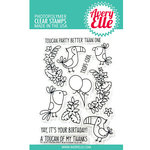Avery Elle - Clear Acrylic Stamps - Toucan Party