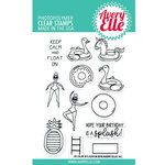 Avery Elle - Clear Acrylic Stamps - Splash