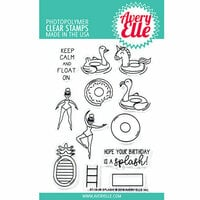 Avery Elle - Clear Photopolymer Stamps - Splash