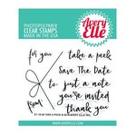 Avery Elle - Clear Acrylic Stamps - Take A Peek