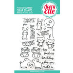 Avery Elle - Clear Acrylic Stamps - Party Pals